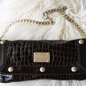 Alligator Michael Kors Clutch/Shoulder Bag
